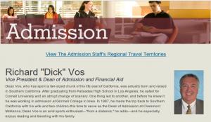 Claremont Admissions, Admission to Claremont McKenna, CMC Admissions