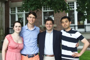 Dartmouth Graduates, Dartmouth Valedictorians, Dartmouth 2012 Grads, Dartmouth and Finance