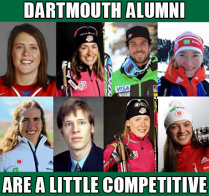 Dartmouth Olympians, College Olympians, Olympians from Dartmouth