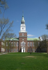 Dartmouth admissions essay