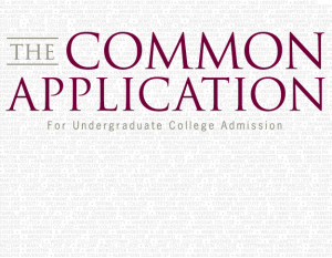 Common App Question, New Common App Question, New Question on Common Application