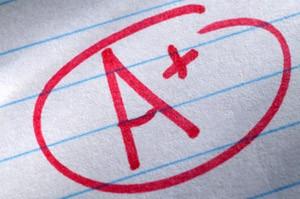 Grades in Courses, HS Grades, High School Grades